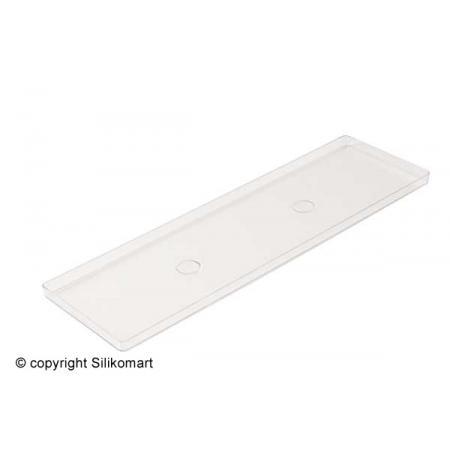 Plato polykarbonátové prezentační 119x395 mm, sada 2ks