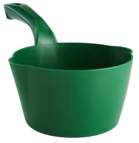 Naběračka Vikan 1 litr oblá s výlevkami zelená
