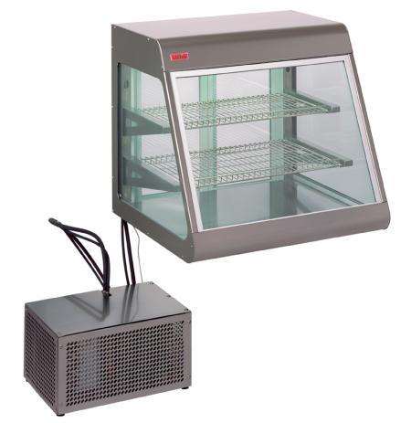 Vitrína stolní chladící obslužná BigHorn Remote 70, izolační dvojsklo, agregát mimo