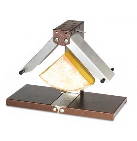 Raclette multifunkční Bréziére na 1/4 bochníku sýra, 2x ohřev