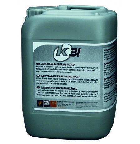 Antibakteriální mycí prostředek na ruce K31
