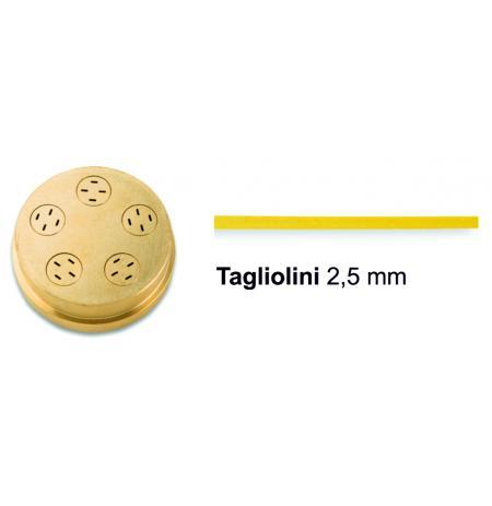 Matrice bronzová 24 Tagliolini 2,5 mm pro P3