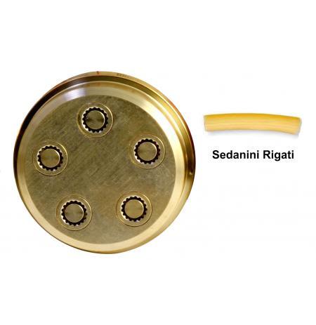 Matrice bronzová 81 Sedanini Rigati 6 mm pro P3