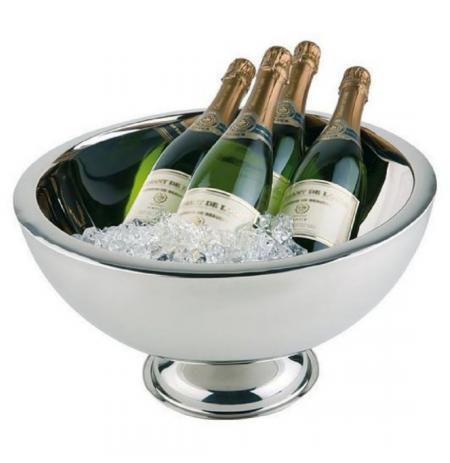 Mísa na šampaňské dvoustěnná nerez