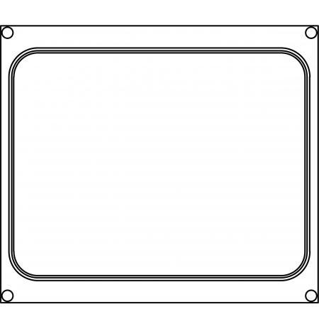 Matrice AG10 pro jednodílné misky 227×178 mm