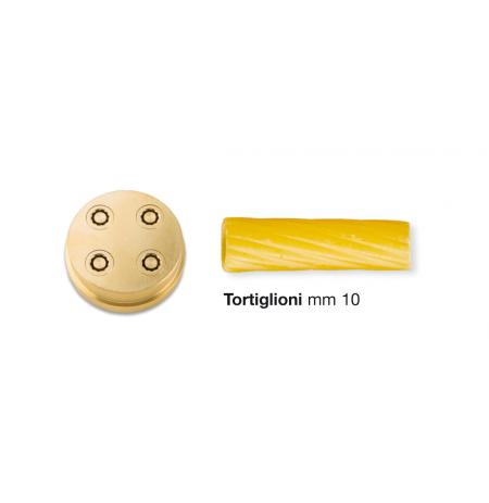 Matrice bronzová Tortiglioni 10 mm pro CHEF IN CASA