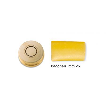 Matrice bronzová Paccheri 25 mm pro CHEF IN CASA