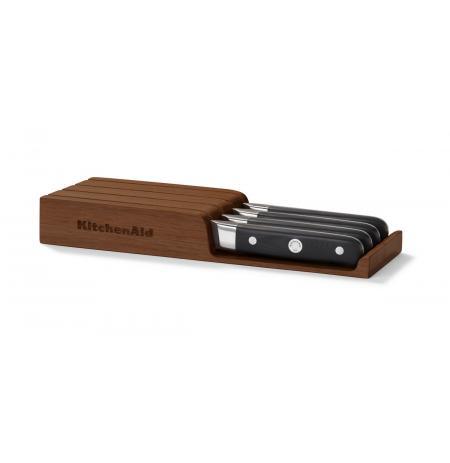 Steakové nože KitchenAid, dřevěný úložný box, 4ks
