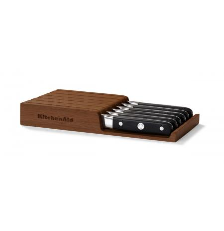 Steakové nože KitchenAid, dřevěný úložný box, 6ks