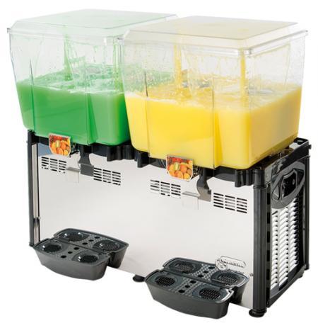 Vířič chlazených nápojů Mega 2x 40 ltr.