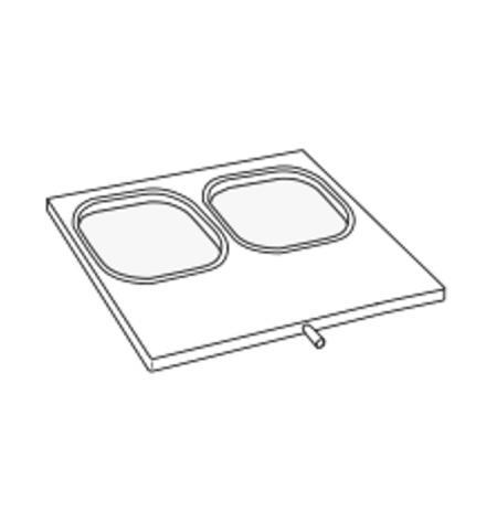 Matrice pro jednodílné misky 180×180 mm