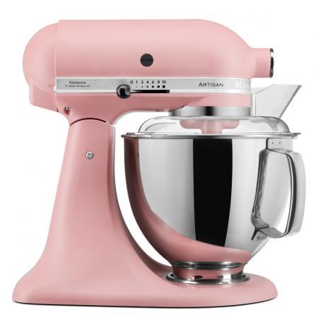 Robot kuchyňský Artisan KitchenAid 5KSM175 růžová matná 4,83 ltr.