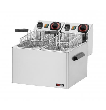 Fritéza elektrická 2x 5 Ltr. FE 44S RedFox