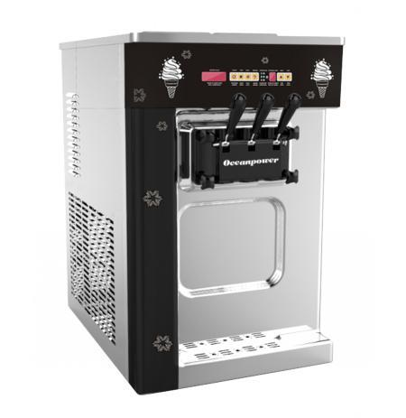 Zmrzlinový stroj Oceanpower OP132BA stolní, mix 2+1
