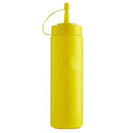 Láhev stříkací plastová 700 ml, žlutá