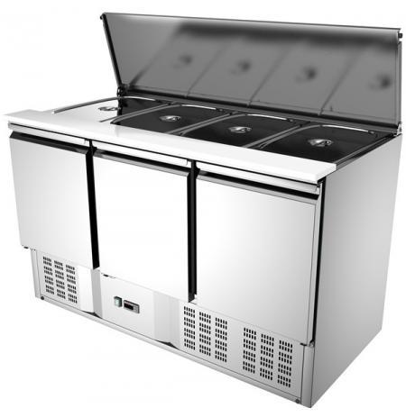 Chladící stůl Saladeta KARMEB CEM 117018 new, 3x dveře