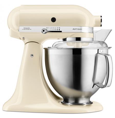 Robot kuchyňský Artisan KitchenAid 5KSM185 mandlová 4,83 ltr.