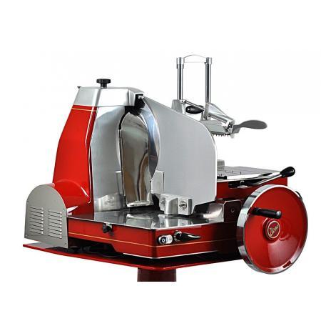 Elektrický retro nářezový stroj s automatickým setrvačníkem 370/81