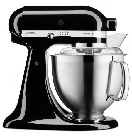 Robot kuchyňský Artisan KitchenAid 5KSM185 černá 4,83 ltr.