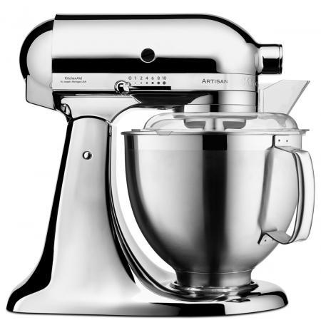 Robot kuchyňský Artisan KitchenAid 5KSM185 chrom 4,83 ltr.