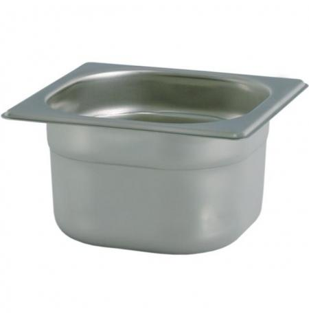 Gastronádoba nerezová GN 1/6 176 x 162 mm, hloubka: 100 mm VL-16100