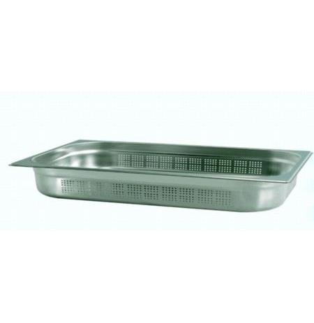 Gastronádoba nerezový profi děrovaná GN 2/1 650x530 mm, hloubka: 200 mm M-21200 P