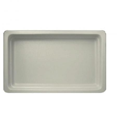Gastronádoba porcelánová GN 1/1 bílá mat, hloubka 22 mm