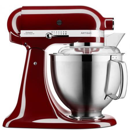 Robot kuchyňský Artisan KitchenAid 5KSM185 višňová 4,83 ltr.