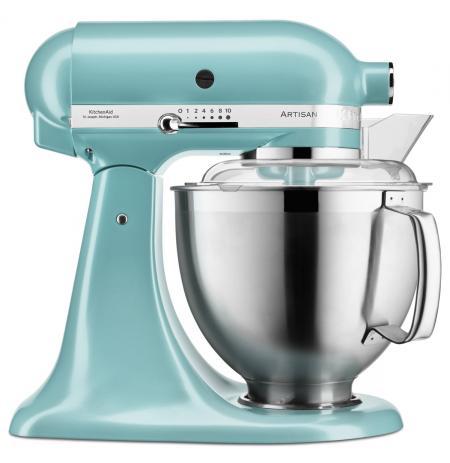 Robot kuchyňský Artisan KitchenAid 5KSM185 azurová modrá 4,83 ltr.