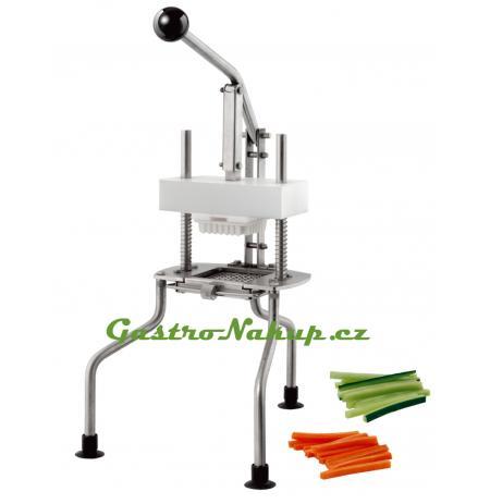 Kráječ zeleniny Kostičkovač, hranolkovač 10x10 mm, podstavec