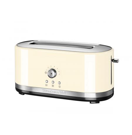Kitchenaid Toustovač 5KMT4116 s manuálním ovládáním a dlouhými otvory - mandlová
