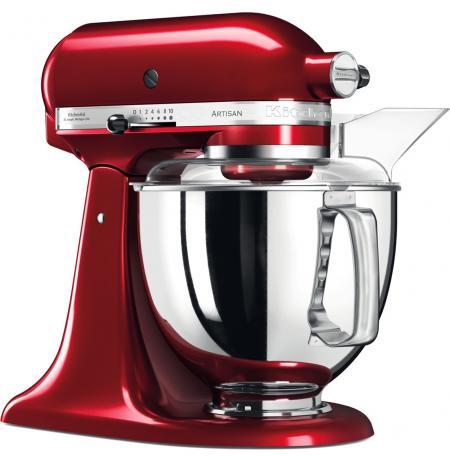 Robot kuchyňský Artisan KitchenAid 5KSM175 červená metalíza 4,83 ltr.
