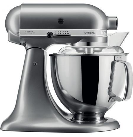 Robot kuchyňský Artisan KitchenAid 5KSM175 stříbrná 4,83 ltr.