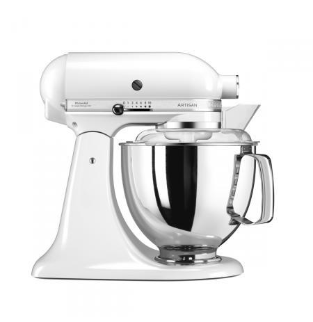 Robot kuchyňský Artisan KitchenAid 5KSM175 bílá 4,83 ltr.