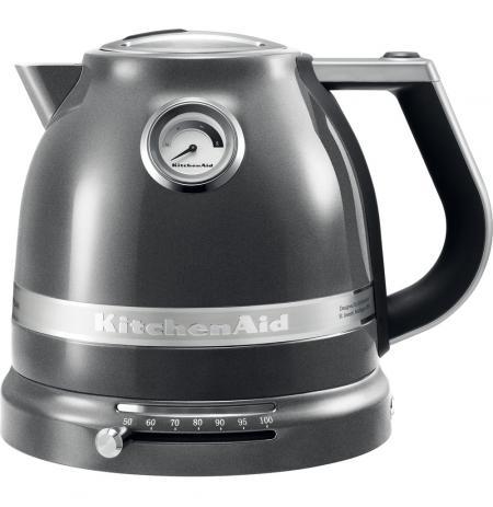 Konvice rychlovarná 1,5L KitchenAid Artisan 5KEK1522, stříbřitě šedá