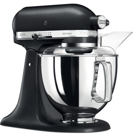 Robot kuchyňský Artisan KitchenAid 5KSM175PSEBK černá litina 4,83 ltr.