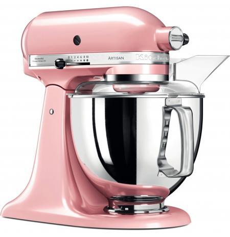 Robot kuchyňský Artisan KitchenAid 5KSM175 růžový satén 4,83 ltr.