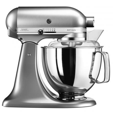 Robot kuchyňský Artisan KitchenAid 5KSM175PSENK broušený nikl 4,83 ltr.