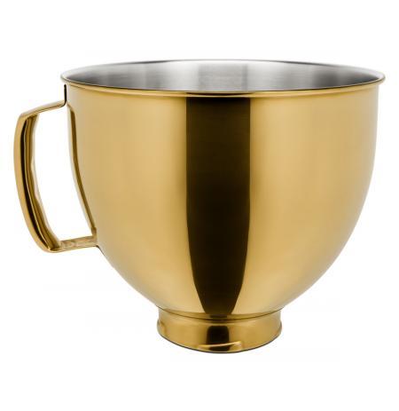 Nerezová mísa 4,83 ltr. 5KSM5SSBRG KitchenAid - zlatá