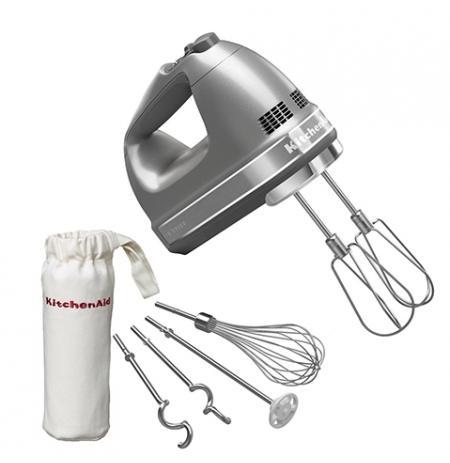 Ruční šlehač 5KHM9212ECU KitchenAid stříbrná