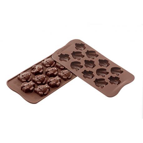 Forma na čokoládu silikonová 12x VELIKONOČNÍ figurky