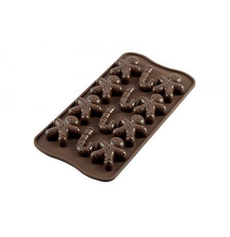 Forma na čokoládu silikonová 12x Mr.GINGER