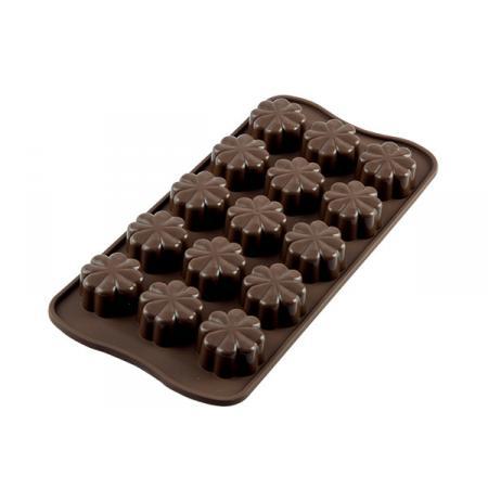 Forma na čokoládu silikonová EasyChoc 15x FLEURY