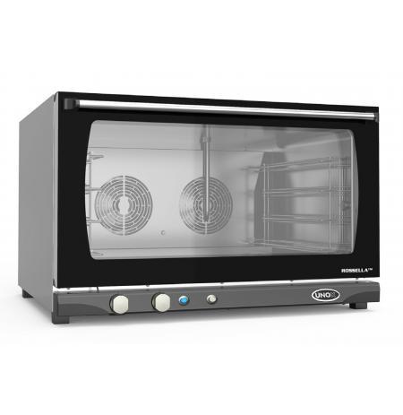 Elektrická cukrářská pec LineMiss 4x 600x400 UNOX XFT 193 Manual Humidity