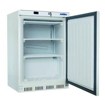 Skříň mrazící UF200, plné dveře, bílé opláštění