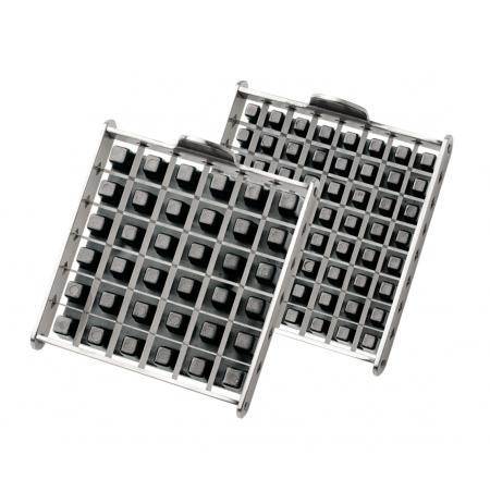 Náhradní mřížka 12x12mm s plastovým posunovačem