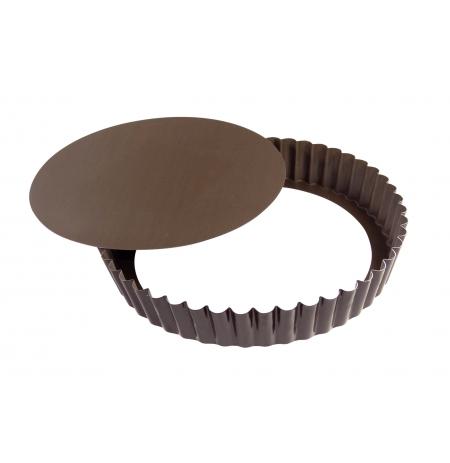 Forma koláčová vroubkovaná 280/265x35 mm, nepřilnavá, rozkládací