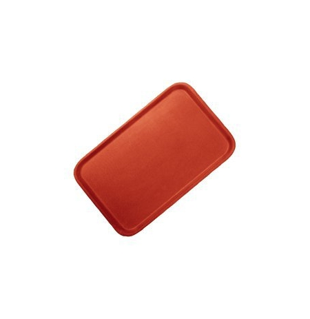Podnos protiskluzový 28x20cm červený