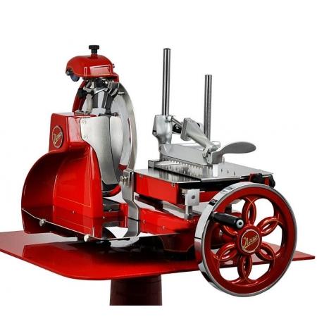 Nářezový stroj setrvačníkový Flywheel 300/K červený, pro krájení Prosciutto Crudo