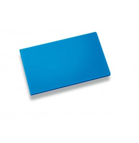 Deska krájecí 400x300x20 modrá, PE HD 500